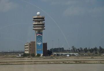 حمله راکتی به فرودگاه بین المللی بغداد