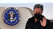 وزیر امور خارجه آمریکا وارد لندن شد