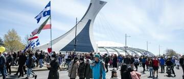 اعتراض به اعمال محدودیتهای کرونایی در کانادا