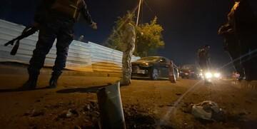 حمله راکتی به پایگاه هوایی آمریکا در شمال بغداد