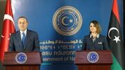 درخواست لیبی از ترکیه برای خروج نیروهای خارجی