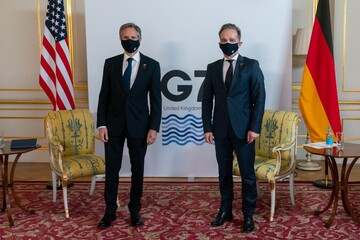 رایزنی بلینکن با وزیر خارجه آلمان درباره ایران