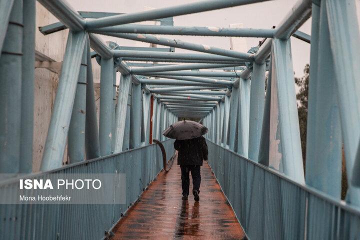 ورود سامانه بارشی جدید به کشور از فردا / بارش باران در ۲۰ استان