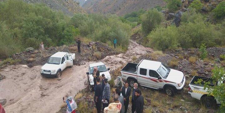 خسارت سنگین سیل به شبکه انتقال برق بخش گلباف کرمان/ تخریب راههای اصلی و روستایی