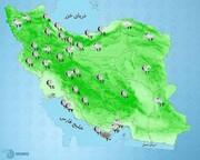 بارش باران و وزش باد شدید ۵ روزه در برخی استانها