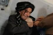 پیرمرد ۱۲۰ ساله سقزی واکسن کرونا زد / عکس