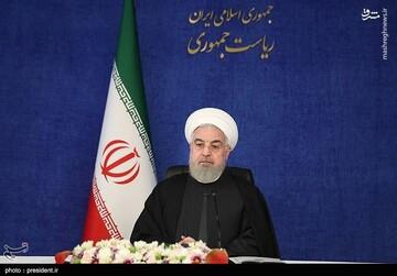 روحانی: تحریم شکسته شده است و اگر همه با هم باشیم تحریم به زودی برداشته میشود / فیلم