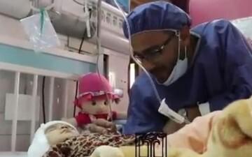 لالاییِ متفاوت پدر بهشهری برای کودک ناشنوایش / فیلم