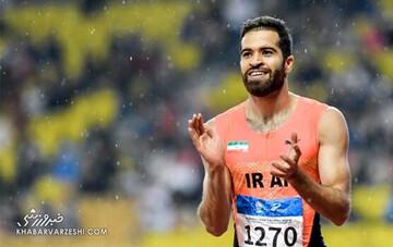 سریعترین مرد ایران راهی فرانسه شد
