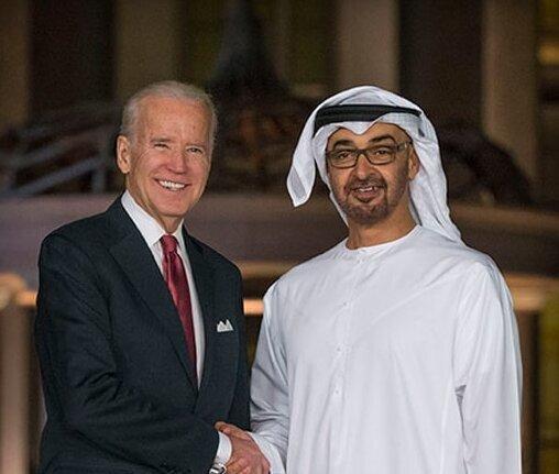 جو بایدن و ولیعهد امارات گفت و گو کردند