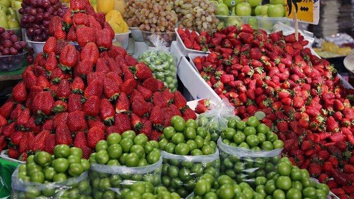 قیمتهای شوکه کننده انواع میوههای بهاری / هر کیلو زردآلو ۹۰ هزار تومان!