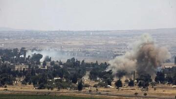 «القنیطره» سوریه هدف حمله هوایی رژیم صهیونیستی قرار گرفت