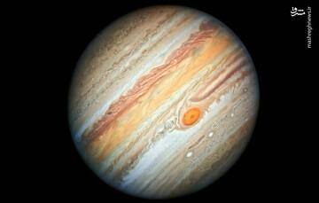 ثبت تصویری زیبا از سیاره مشتری با استفاده از مادون قرمز / عکس