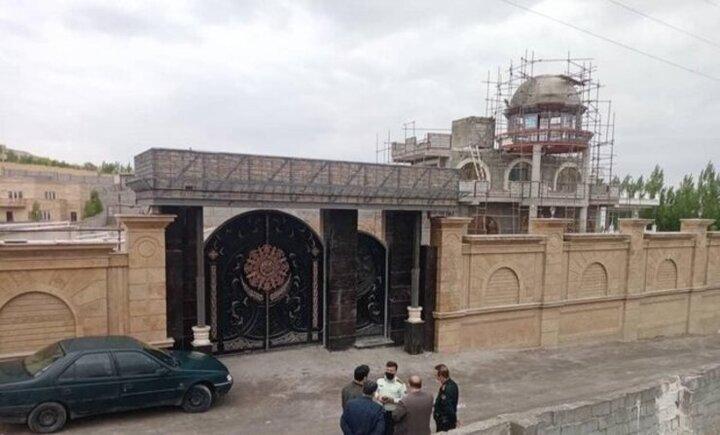 تخریب ویلای مجلل ۲۵ میلیاردی در تبریز / عکس