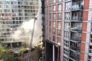 برج ۱۹ طبقه در لندن آتش گرفت