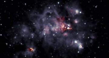 تصویری شگفتانگیز از محل تولد ستارهها