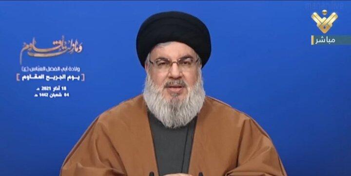 سید حسن نصرالله از گفتگوی ایران و عربستان حمایت کرد