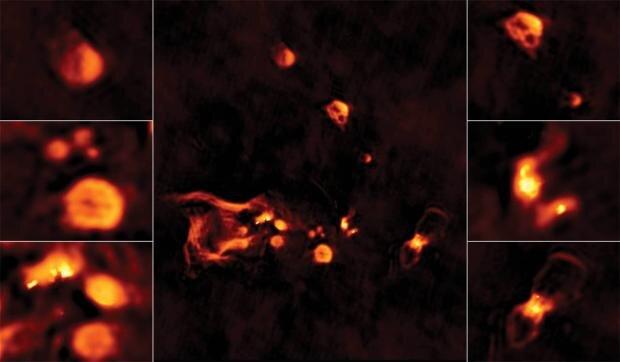 ثبت تصویری خیره کننده از محل تولد ستاره ها در کیهان