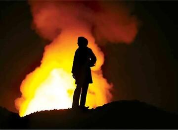 ماجرای آتشسوزی گسترده در ورودی بوشهر چه بود؟