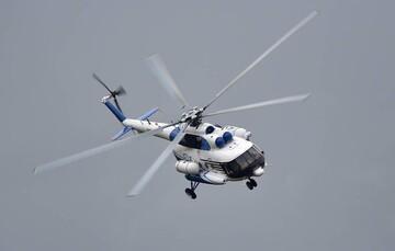 ناپدید شدن یک بالگرد روسی با دو سرنشین