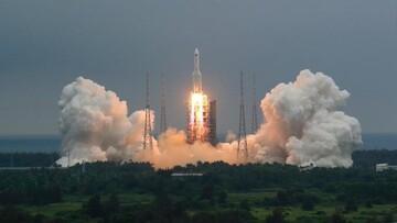 مکان فرود بقایای موشک چینی مشخص شد/ محل فرود دریا نیست بلکه زمین است