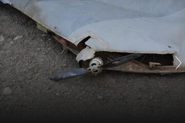 سرنگونی ۲ پهپاد روسی توسط ارتش اوکراین