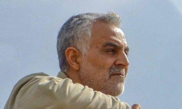 تندیس سردار شهید سلیمانی در تهران رونمایی شد / عکس