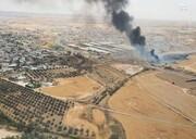 آتشسوزی مهیب در کارخانه صنایع نظامی ارتش اسرائیل / فیلم