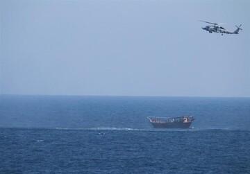 یک محموله سلاح قاچاق در دریای عرب توقیف شد / ادعای پنتاگون: منشا این محموله ایران است