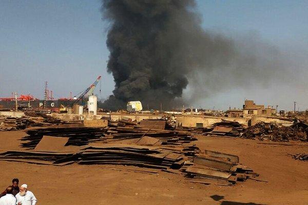 وقوع انفجار در یک کشتی در بندر «بانیاس» سوریه