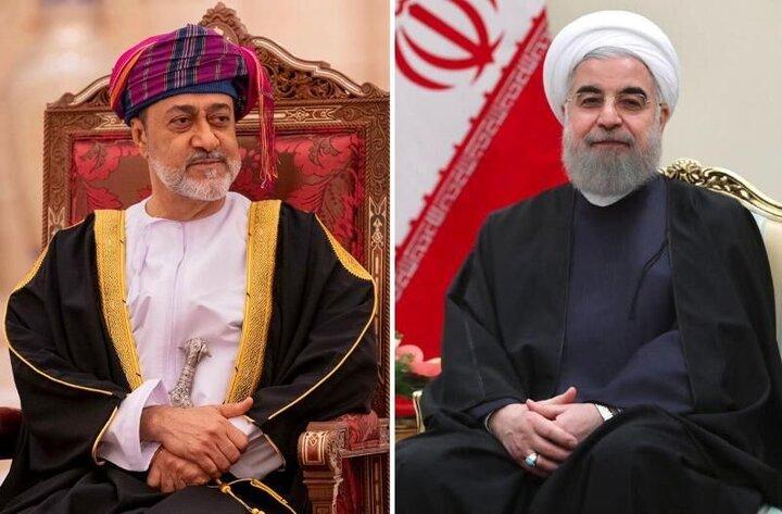 تبریک سلطان عمان به روحانی به مناسبت فرا رسیدن عید فطر