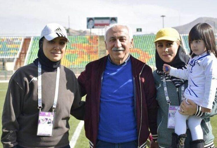 عکس | اتفاق جالب توجه؛ مربی مطرح فوتبال ایران دستیار دخترش در تیم ملی بانوان شد