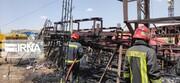 سیرک شیراز طعمه شعلههای آتش شد