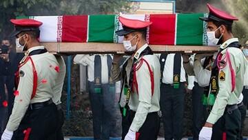 یک مامور تکاور در نیکشهر شهید شد