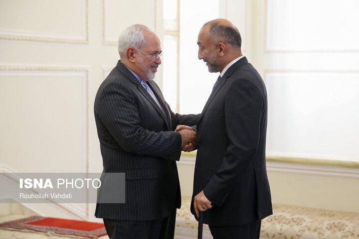 وزیر خارجه افغانستان از پیام همدردی ظریف تقدیر کرد