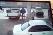 تصاویر دلخراش از لحظه انفجار وحشتناک کپسول CNG در تبریز / فیلم