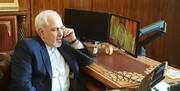 گفتگوی تلفنی ظریف با وزیر خارجه الجزایر