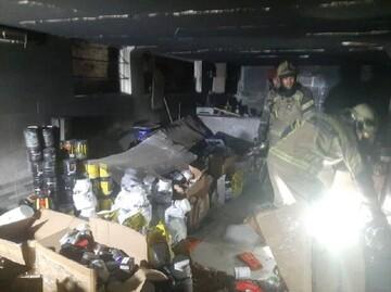 جزییات آتش سوزی یک ساختمان مسکونی در تهران