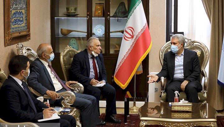 دیدار علیاصغر مونسان با سفیر ارمنستان در تهران