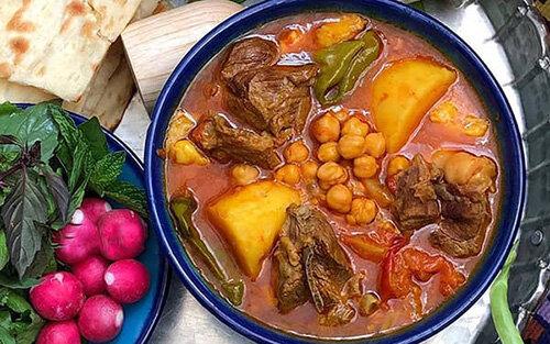 دستور پخت یخنی نخود؛ آبگوشتِ اصیل شیرازی + مواد لازم