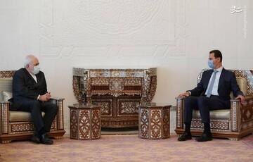 دیدار ظریف با بشار اسد