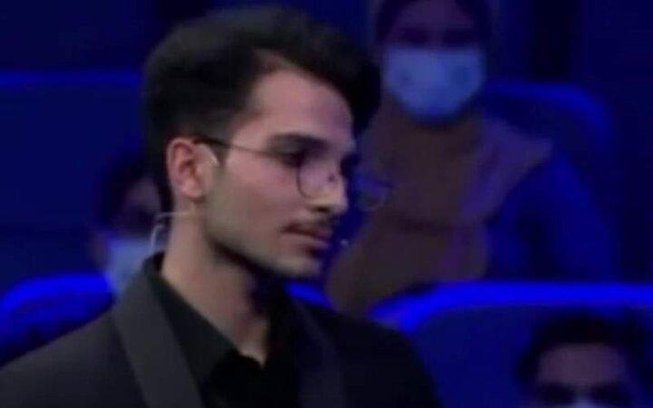 تعجب محمدرضا گلزار از شنیدن صدای آلن دلونی یکی از شرکت کنندگان / فیلم