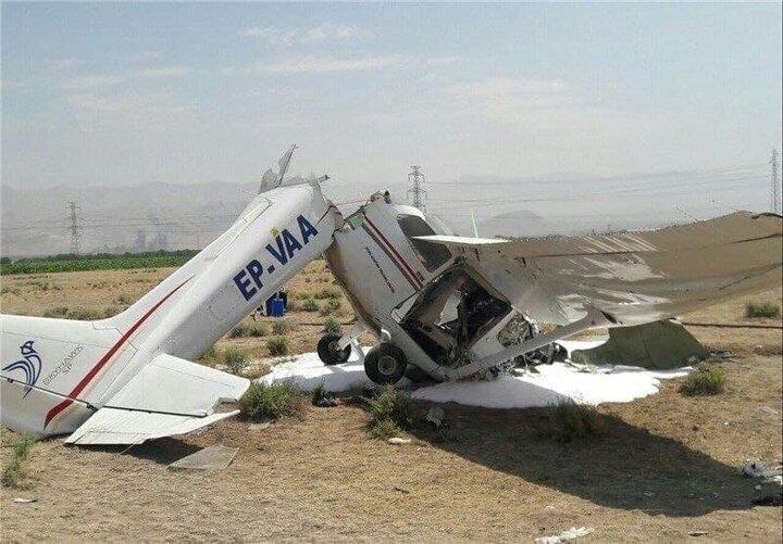 علت سقوط هواپیما در فرودگاه اراک مشخص شد