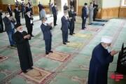 اقامه نماز عید فطر در جمهوری آذربایجان