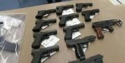 کشف محموله سلاحهای مخصوص ترور در آستانه انتخابات / عکس