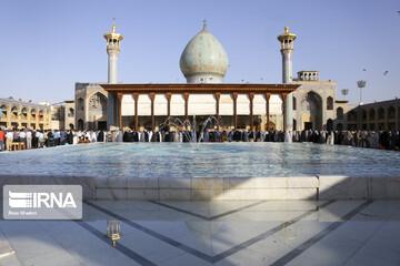 گزارش تصویری از برگزاری نماز عید فطر در شیراز