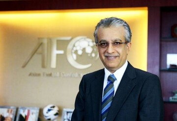 پیام تبریک شیخ سلمان به رییس فدراسیون فوتبال ایران