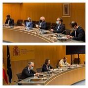 ظریف با وزیر صنعت اسپانیا دیدار کرد
