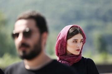 سلفی عاشقانه فرشته حسینی و نوید محمدزاده / عکس