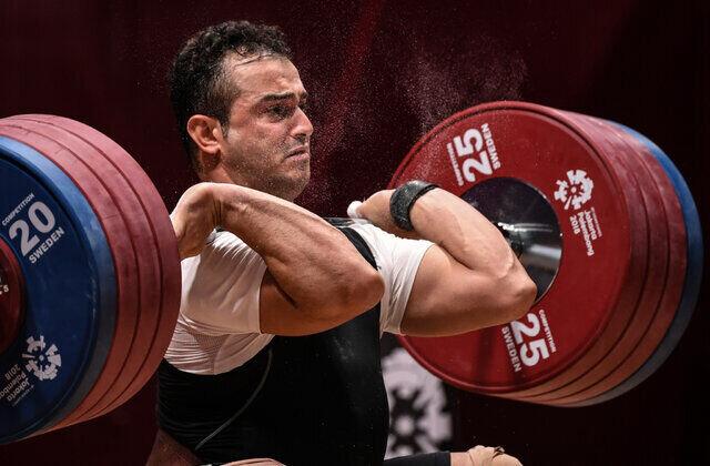 خبری بد برای وزنهبرداری ایران / سهراب مرادی به سهمیه المپیک نرسید